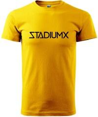 Myshirt.cz Stadiumx - Heavy new - triko pánské - XS ( Žlutá )