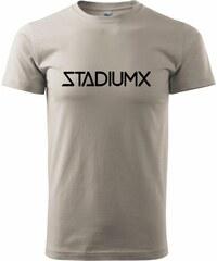 Myshirt.cz Stadiumx - Heavy new - triko pánské - XS ( Ledově šedá )