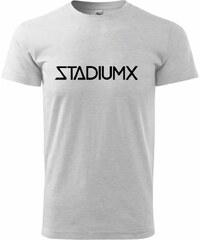 Myshirt.cz Stadiumx - Heavy new - triko pánské - XS ( Světlešedý melír )