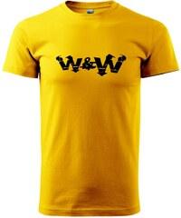 Myshirt.cz W&W - Heavy new - triko pánské - XS ( Žlutá )