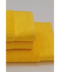 Soft Cotton Ručník VERA 50x100 cm Žlutá