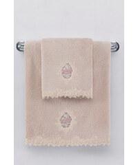 Soft Cotton Malý ručník DESTAN 32x50cm Starorůžová