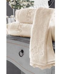 Soft Cotton Malý ručník LUNA 32x50 cm Smetanová
