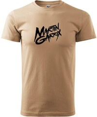 Myshirt.cz Martin Garrix nápis - Heavy new - triko pánské - XS ( Písková )