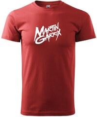 Myshirt.cz Martin Garrix nápis - Heavy new - triko pánské - XS ( Bordó )