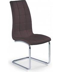 Jídelní židle K147, hnědá