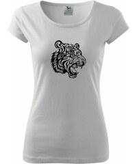 Myshirt.cz Tygr - Pure dámské triko - XS ( Bílá )
