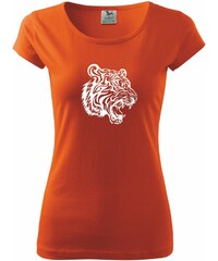 Myshirt.cz Tygr - Pure dámské triko - XS ( Oranžová )