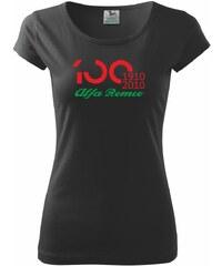 Myshirt.cz Alfa Romeo 100 let - nový - Pure 150 - XS ( Černá )