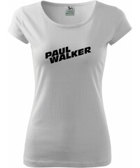 Myshirt.cz Fast and Furious - Paul Walker - Pure dámské triko - XS ( Bílá )