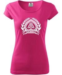 Myshirt.cz Axwell logo - Pure dámské triko - XS ( Purpurová )