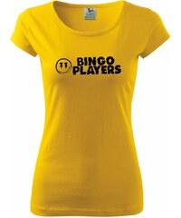 Myshirt.cz Bingo Players - Pure dámské triko - XS ( Žlutá )