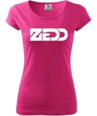 Myshirt.cz Zedd - Pure dámské triko - XS ( Purpurová )
