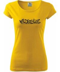 Myshirt.cz Wildstylez - Pure dámské triko - XS ( Žlutá )