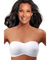 Große Größen: LASCANA T-Shirt BH mit Bügel und abnehmbaren Trägern, weiß, Gr.75-105