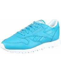Große Größen: Reebok Sneaker »Classic Leather II«, blau-türkis, Gr.36-42