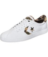 Große Größen: CONVERSE Cons Breakpoint OX Sneaker, weiß / braun / oliv, Gr.7 US - 40 EU-8 US - 41 EU