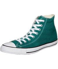 Große Größen: CONVERSE Chuck Taylor All Star High Sneaker, grün / weiß, Gr.8.5 US - 42 EU-8.5 US - 42 EU