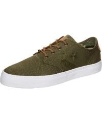 Große Größen: CONVERSE Cons Zakim OX Sneaker, olivgrün / weiß, Gr.7 US - 40 EU-12 US - 46.5 EU