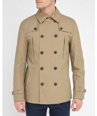 SELECTED Kurzer beiger Trenchcoat Bowery