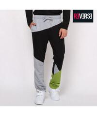 Re-Verse Pantalon de survêtement design color block
