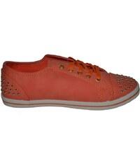 VICES Nízké oranžové tenisky
