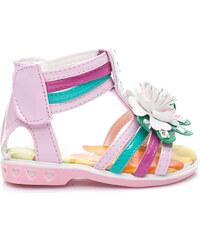 BONA Krásné růžové dětské sandály