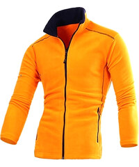 Re-Verse Sport-Sweatjacke Zweifarbig - Orange - M