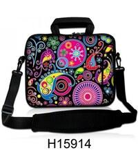 """Huado taška přes rameno 17.4"""" Picasso style"""