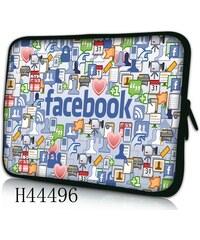 "Huado pouzdro na notebook 11.5"" Social network"