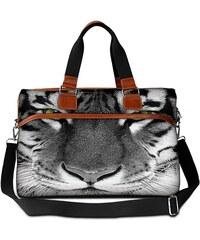 Huado cestovní taška 36L - Tygr černobílý