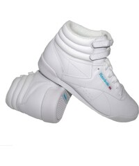 Reebok FREESTYLE HI WHT/LT BLUE