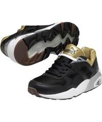 PUMA Trinomic R698 Sport Wn s black -zlaté 35733105
