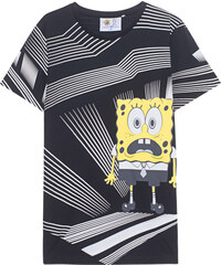 PATRICK LOVES SPONGEBOB by PM Mono Spongebob Black