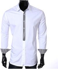 Re-Verse Hemd mit karierten Details - Weiß - S