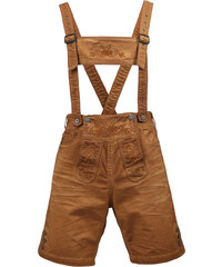 s.Oliver Jeans-Bermuda im Lederhosen-Look