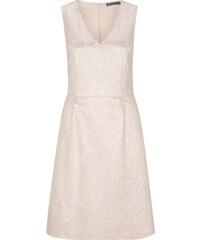s.Oliver BLACK LABEL Jacquard-Kleid mit Metallic-Muster