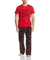 Joe Browns Herren Zweiteiliger Schlafanzug Rock Pyjamas