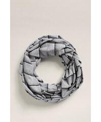 Esprit Pruhovaný žerzejový šál, směs bavlny