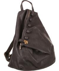 TopMode Koženkový asymetrický batoh šedá