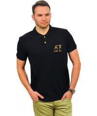 Alber Zoran Pánské polo tričko 101_BLACK