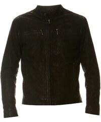 Pepe Jeans London Saint - Lederjacke - schwarz