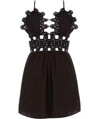 Glamorous Kleid mit Trägern - schwarz