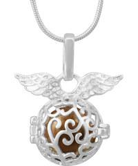 Lesara Engelsflüsterer-Halskette mit Flügel-Element - Gold