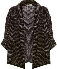 Freeman T Porter Cocoon - Cardigan en laine mélangée - noir