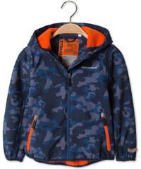 C&A Softsjacke mit Kapuze in Grau / Blau
