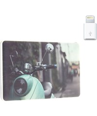 Accoo Retro Scoot - Chargeur Nomade pour Smartphones - vert