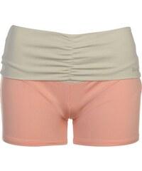 USA Pro Fold Over Shorts dámské Peach/Stone