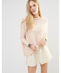 Free People - Lover Thermal - Gerippter Pullover - Rosa