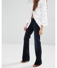 Hilfiger Denim Hilfiger - Sandy - Jean bootcut taille mi-haute - Bleu